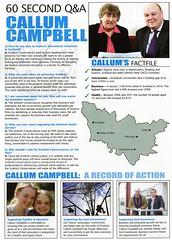 Conservative Scottish Election Leaflet 2011 (Scottish Political Archive) Tags: party scotland election scottish conservative publicity campbell campaign dunblane 2011 clackmannan