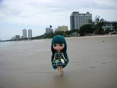 Sweetheart at Hua Hin beach!