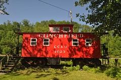 Clinchfield Caboose (esywlkr) Tags: railroad nc northcarolina caboose csx wnc westernnorthcarolina clinchfield