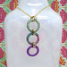 Elves Macrame 3-hoop Necklace