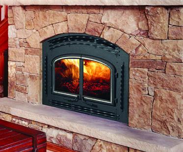 Quadra-Fire 7100Fireplace Wood