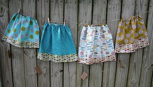organic reversible skirts