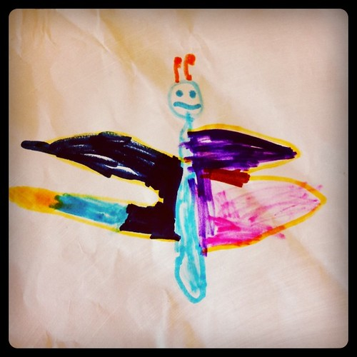 Butterfly by Maximilien, age 4.
