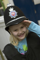 Half Term at the Museum (Greater Manchester Police) Tags: greatermanchesterpolicemuseum policemuseum newtonstreetmuseum museumopenday inuniform dressingup