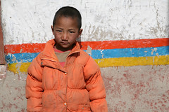 School boy (Ingiro) Tags: school nepal boy asia young monk monaco tibet tibetan mustang ragazzo ingiro giovane kingdomoflo regnodilo