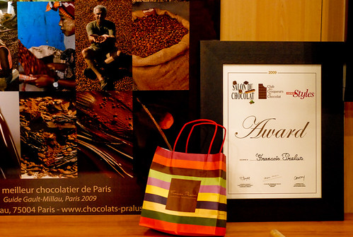 Visiting the Salon du Chocolat 2009, Paris