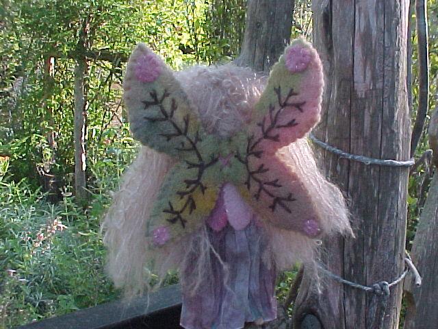 A Medieval  Fairy - Custom Doll