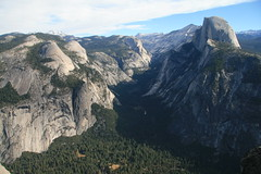 Mirror lake & Half Dome Photo