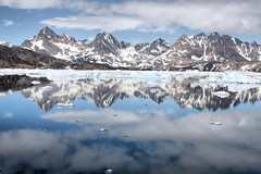 Greenland reflections... (christine zenino) Tags: mountains europe arctic greenland glaciers inuit 1000views grnland dogsled grnland groenland groenlandia 1000plusviews angmassalik tasiilaq grnland ammasalik  tasiilaqgreenlandtravelguide greenlandtravelguide villageoftasiilaq greenlandichuskypuppy inuitvillage
