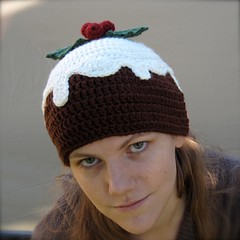 knit pudding hat amp mitts from free christmas knitting library