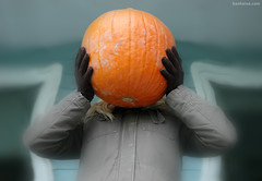 Happy Halloween (Ben Heine) Tags: food holiday halloween mystery children pumpkin vacances weird costume scary funny mask symbol witch vampire magic fear culture vegetable celebration gloves faceless christianity lantern tradition fte candies paganism superstition nourriture bonbons happyhalloween ghoststories fantme masque allsaintsday lgume potiron citrouille peur october31 gants effrayant benheine christianholiday hauntedattractions celticfestivalofsamhain