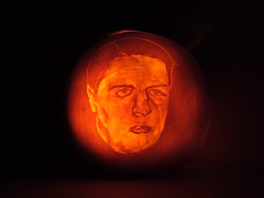 'Really Creepy' Nick Griffin Pumpkin