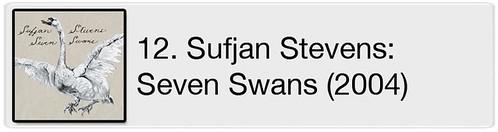 12. Sufjan Stevens - Seven Swans (2004)