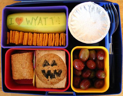 Kindergarten Bento #255: October 29, 2009