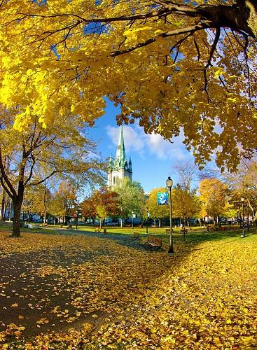 Parc Champlain & Cathédrale