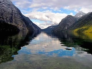 Konigssee Lake in Bavaria, Germany