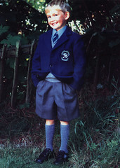 Image titled John's first day of primary 1990