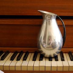 Vintage Aluminum Pitcher (calloohcallay) Tags: modern silver spain aluminum housewares mmm pitcher midcentury calloohcallay