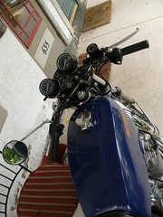 P1020052 (Jason McElroy) Tags: honda 1975 motorcycle cb400f supersport 400cc