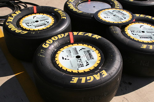 Per my usual thing- I took lots of pictures of tires on pit road.