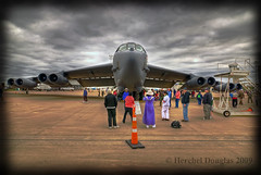 Big bird (D Double H Photography (AKA MHDouglas)) Tags: show plane big nikon texas hdr fortworth tokina1224mmf4 b52bomber allianceairshow d80