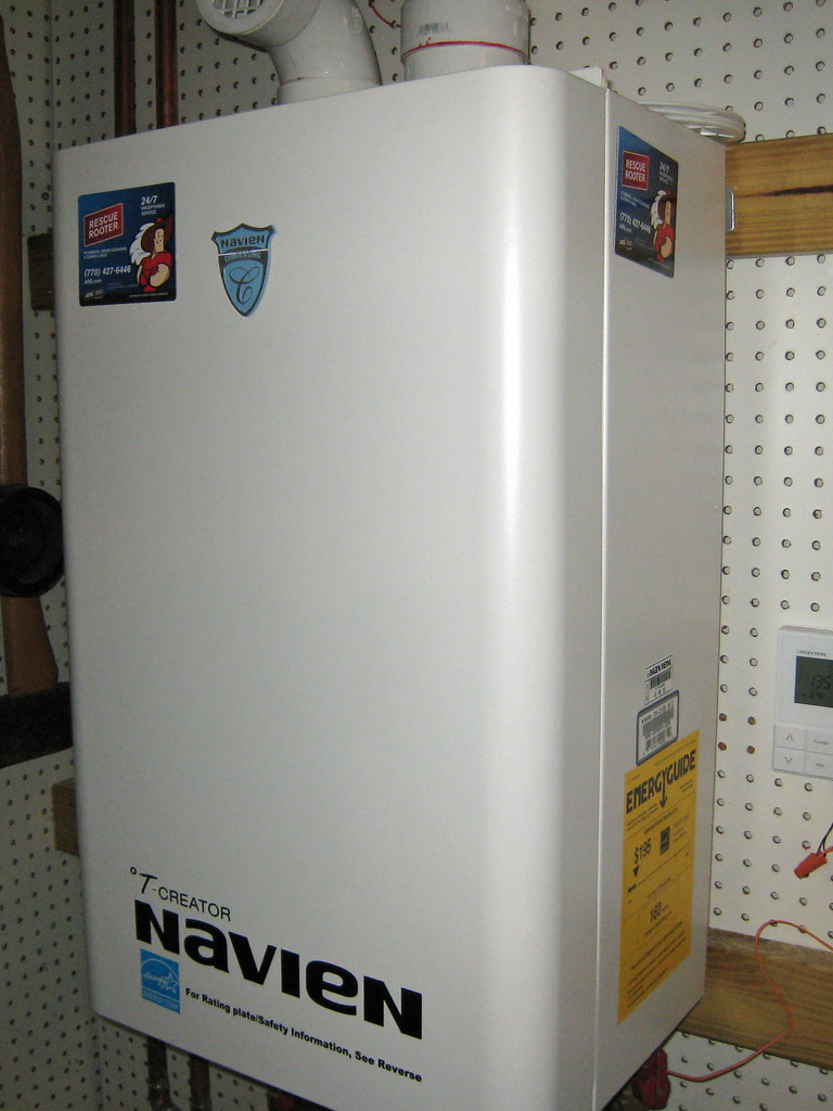 Replacing leaking water tank with tankless water heater