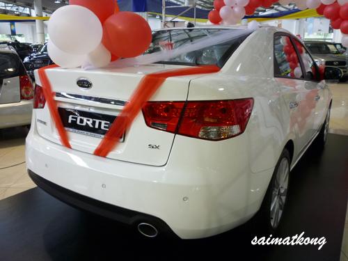Kia Forte - Clear White