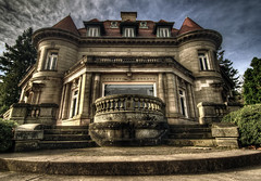 Pittock Mansion (robert.hamilton) Tags: sky house clouds oregon portland big nikon tokina pdx mansion really capture hdr looming pittockmansion pittock d90 photomatix 1116 nx2