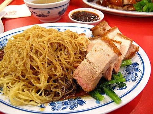 IMG_5016 Roast Pork Noodle 烧肉面