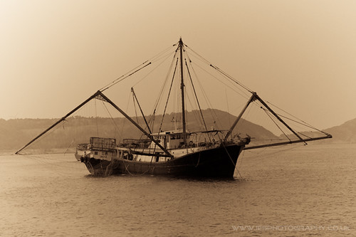 Trawler in Lamma Island Harbour