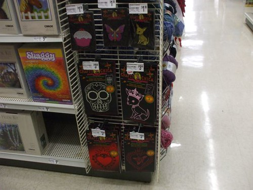 crafty chica at michaels!