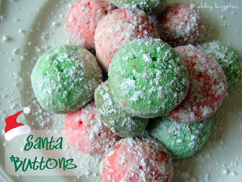Santa Buttons
