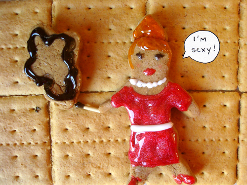 Gingerbread Mad Men - Joan
