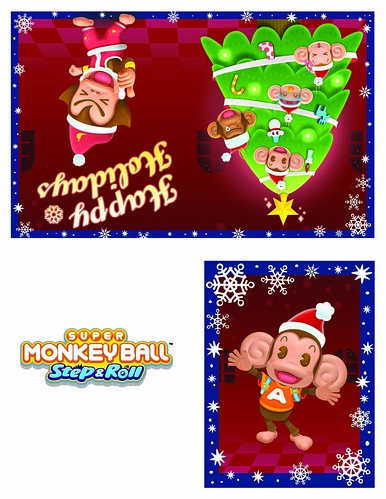 Super Monkey Ball Halloween Card 2