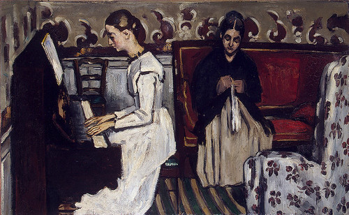 Artists Mother and Sister Cezanne Wikimedia Commons
