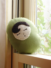 A Plush A Day Challenge!  Day 24 - Sleep Pea