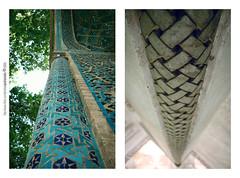 2 (pedramatic) Tags: blue architecture canon tile persian iran islam persia mosque wm architect iranian  kashan esfahan islamic isfahan      masjed pedram       abigfave    canoneos450d      pedramatic        natanzb 2 av