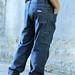 Diamond Gusset Carpenter Jeans