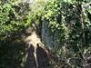 l'ingresso al sentiero della Strada Stefania da Gretta