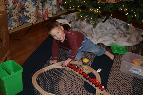 Joey and the Train
