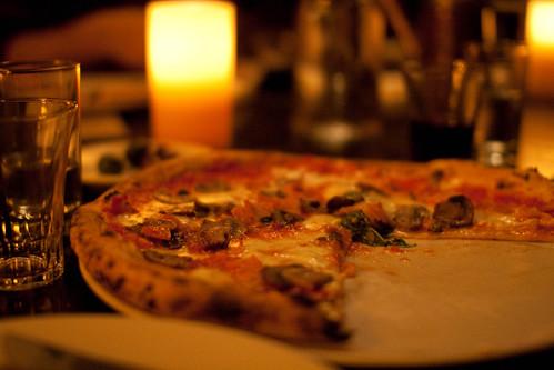 Tasty pizza at Via Tribunali