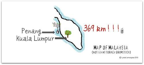 Map of Malaysia 2