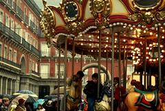 Plaza Mayor de Madrid (pakotiya) Tags: madrid city kids arquitectura gente bokeh sony ciudad nios retratos urbana tele tamron arquitecture