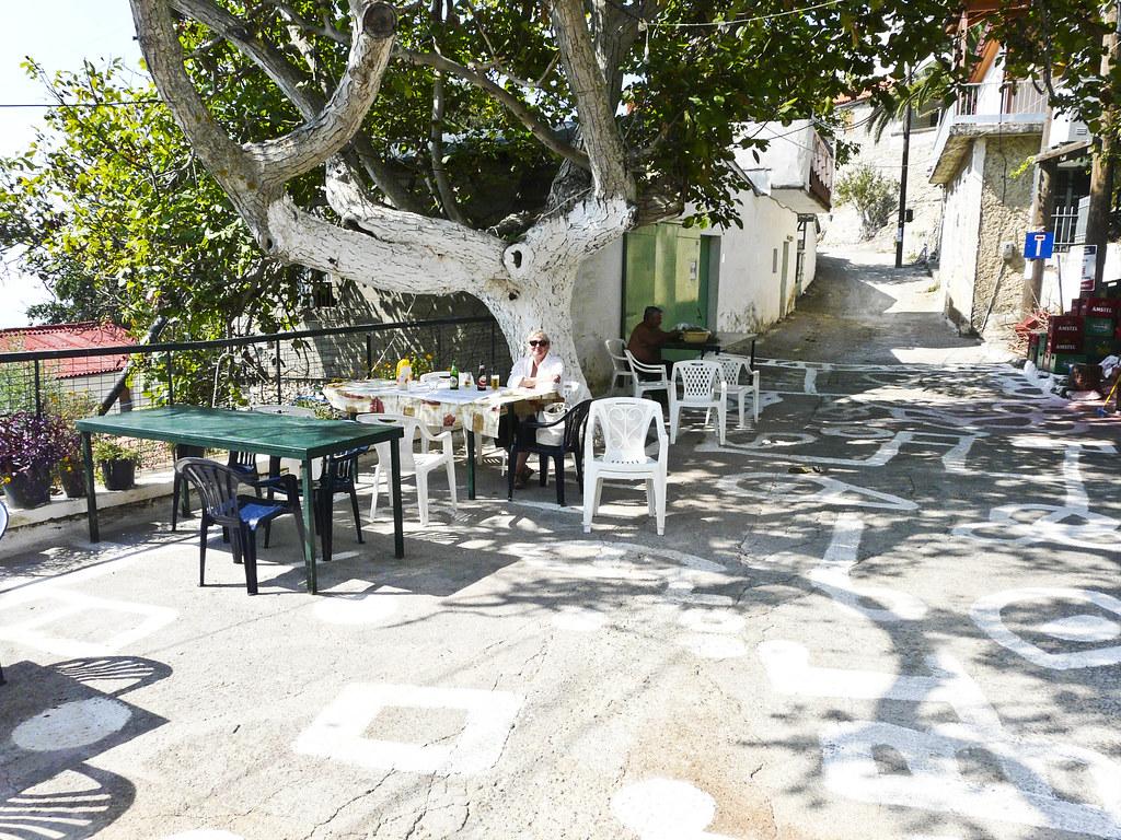village in Mani, Greece