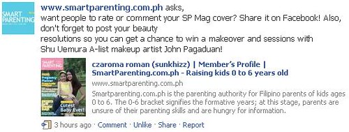 Facebook smartparenting.com.ph