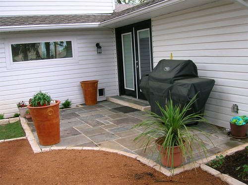 Patios landscape edging