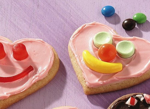 Recipe: Sweetheart Face Cookies