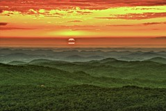 Green Hills (Pheno Me Non) Tags: trees sunset sky sun mountains color nature night clouds nikon skies cloudy tennessee gimp hills valley geotag forests blueridgemountains hdr tellico saturate appalachianmountains cherokeenationalforest d90 cloudynight picturenaut scenicsnotjustlandscapes regionwide