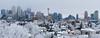 Frosty Panorama (Witty nickname) Tags: winter panorama calgary skyline buildings pano frosty condo nikkor nikond80 frostypanorama