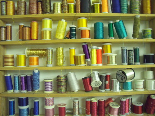 Jenny's thread collection